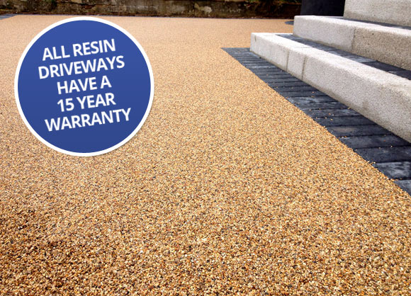 resin bound driveways chehsire