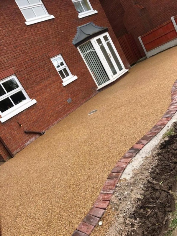 Resin Patio – Queensferry